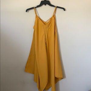 Mustard pl dress